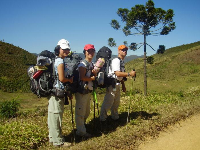 A travessia da Trilha do Ouro, no Pq. Nacional da Serra da Bocaina