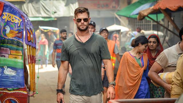 Chris Hemsworth em Resgate NETFLIX