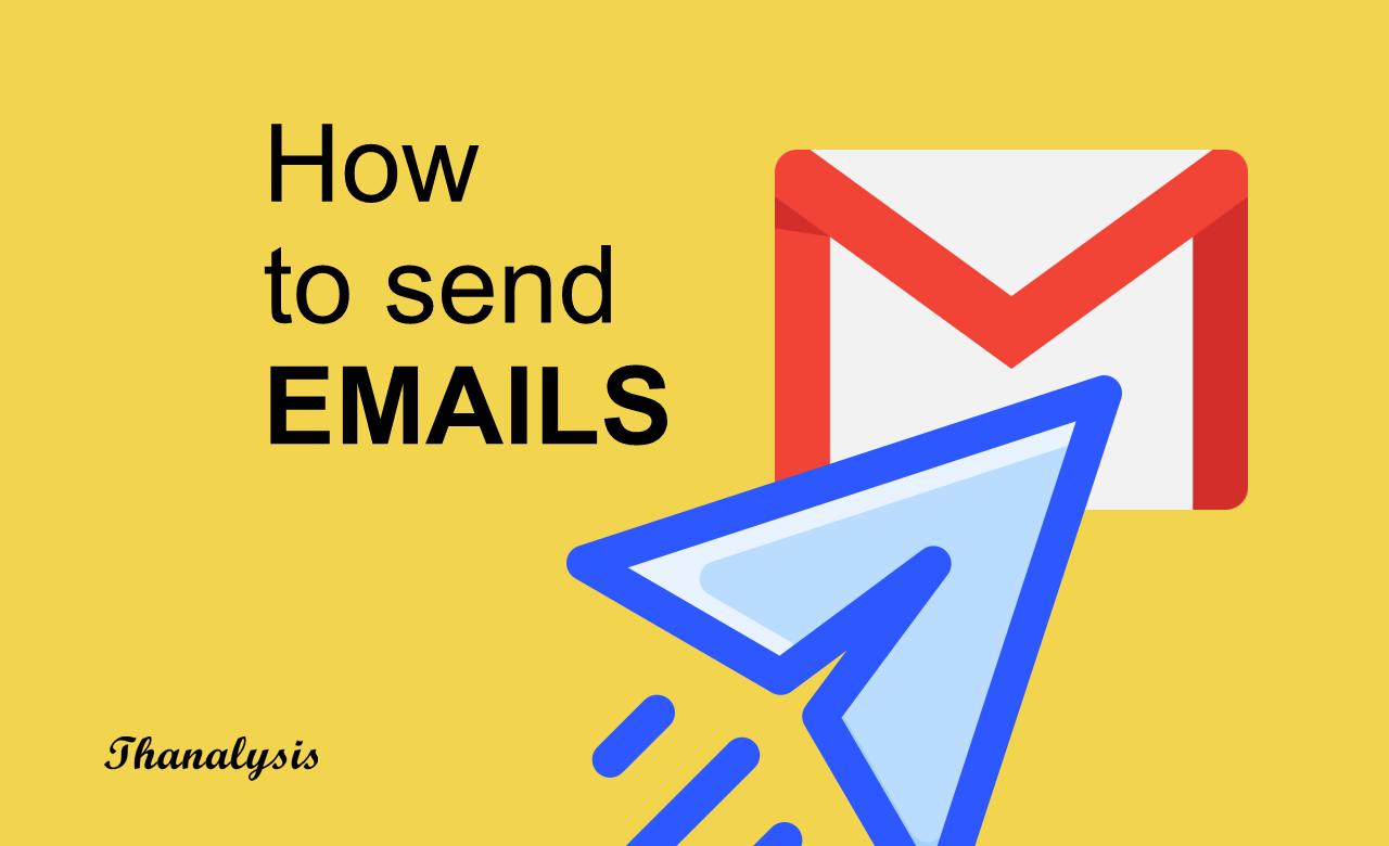 How to send email - Thanalysis