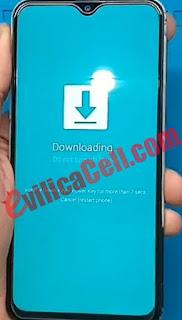 Download Mode Samsung Galaxy A20s (SM-A207F)
