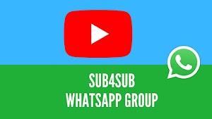 4000+ Sub4Sub WhatsApp Group Links 2021 [Updated]