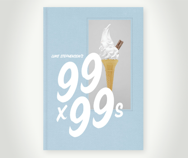 Luke Stephenson's 99x99s ice cream book