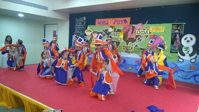 Amalgamation of Cultures of the World at VIBGYOR Kids, Borivali