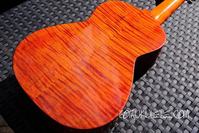 Harley Benton Kahuna CLU-42C ukulele back