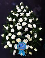 Coroana funerara Trandafiri