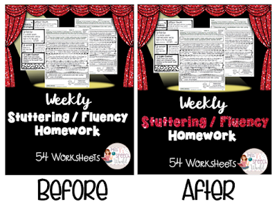 https://www.teacherspayteachers.com/Product/StutteringFluency-Weekly-Homework-54-Worksheets-for-the-year-Speech-therapy-1524470