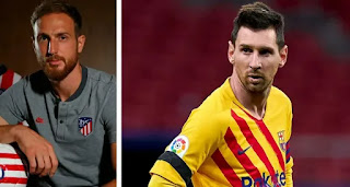 'It would be nice to play alongside Messi one day': Atletico Madrid goalkeeper