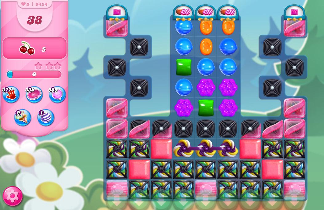 Candy Crush Saga level 8424
