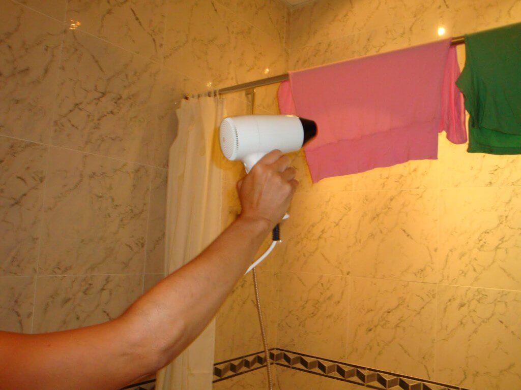 Como lavar roupas durante a viagem