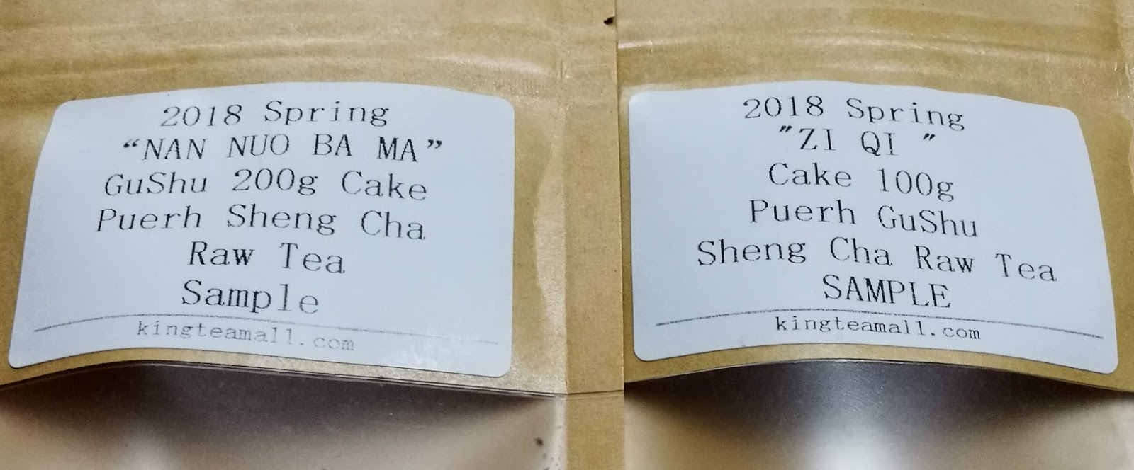 Tea in the ancient world: King Tea Mall Nan Nuo and Zi Qi
