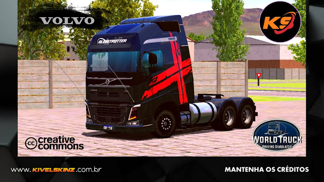 VOLVO FH16 750 - PERFORMANCE BLACK RED