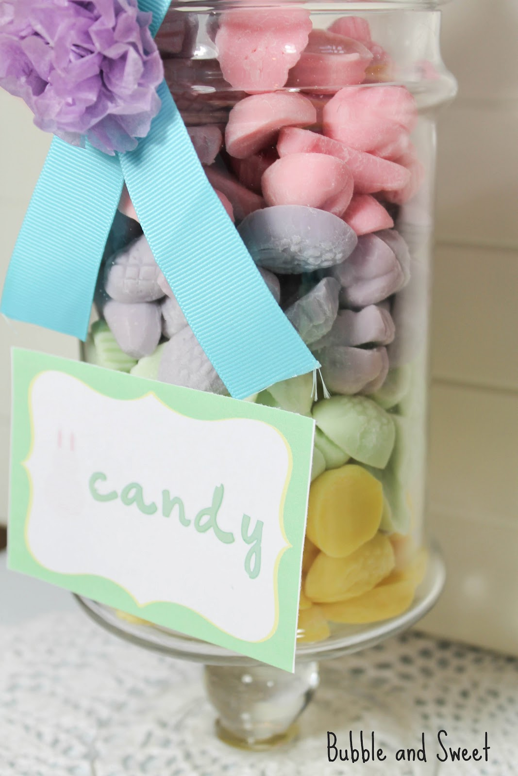 Pastel Candy Makeup Tutorial: Bubble And Sweet: Pretty Easter Pastel Rainbow Party