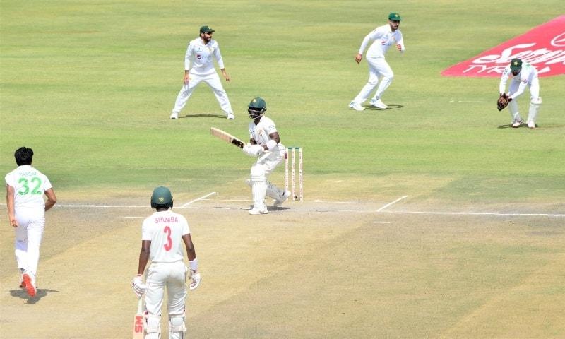 Hasan, Fawad impress as Pakistan crush Zimbabwe in first Test Newsajk.xyz