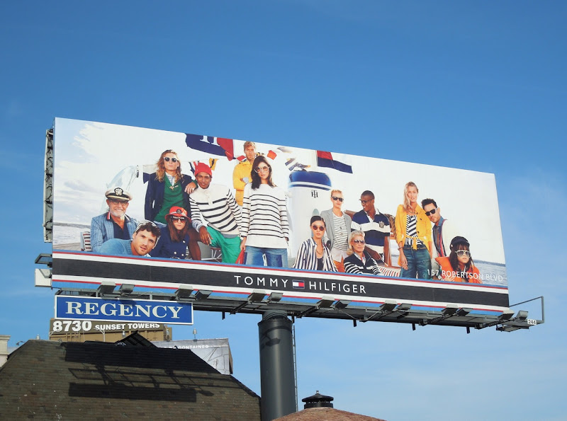 Tommy Hilfiger nautical S13 billboard