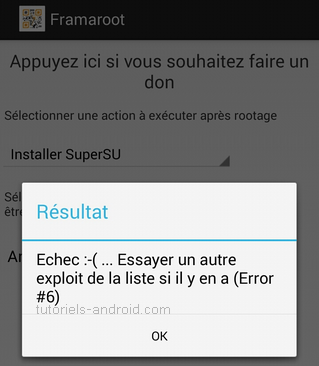 framaroot-echec-root-android