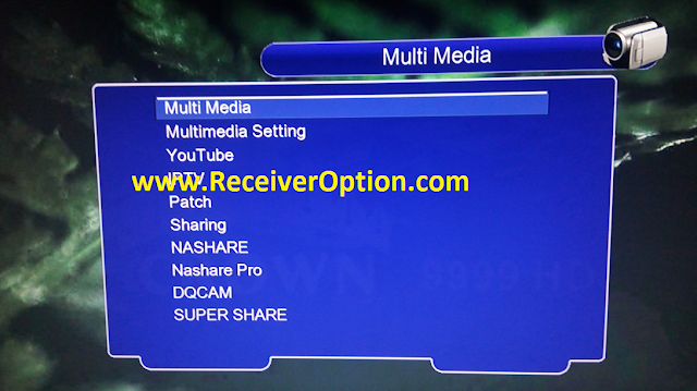CROWN 9999 HD 1506TV NEW SOFTWARE WITH ECAST & SUPER SHARE OPTION