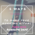 5 Ways To Make Mornings Turn into Awesome Days