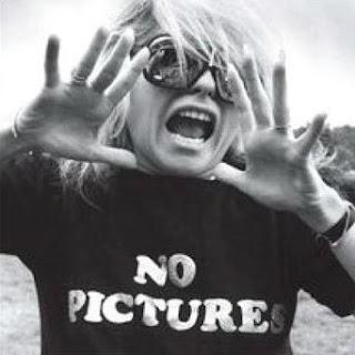 Blondie No Pictures T-Shirt.  PYGear.com