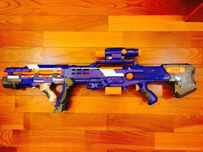 súng Nerf dài 3