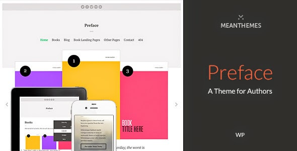 Premium WordPress Theme for Authors