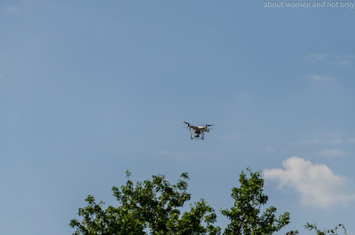 Galatii de altadata, eveniment filmat de drona.