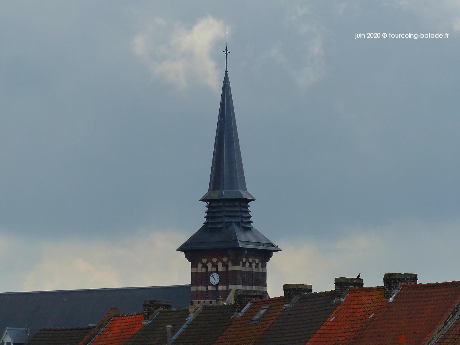 Clocher église Notre-Dame de Consolation, Tourcoing