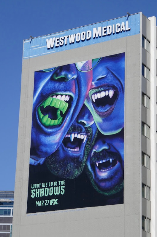 Giant What We Do In The Shadows series billboard