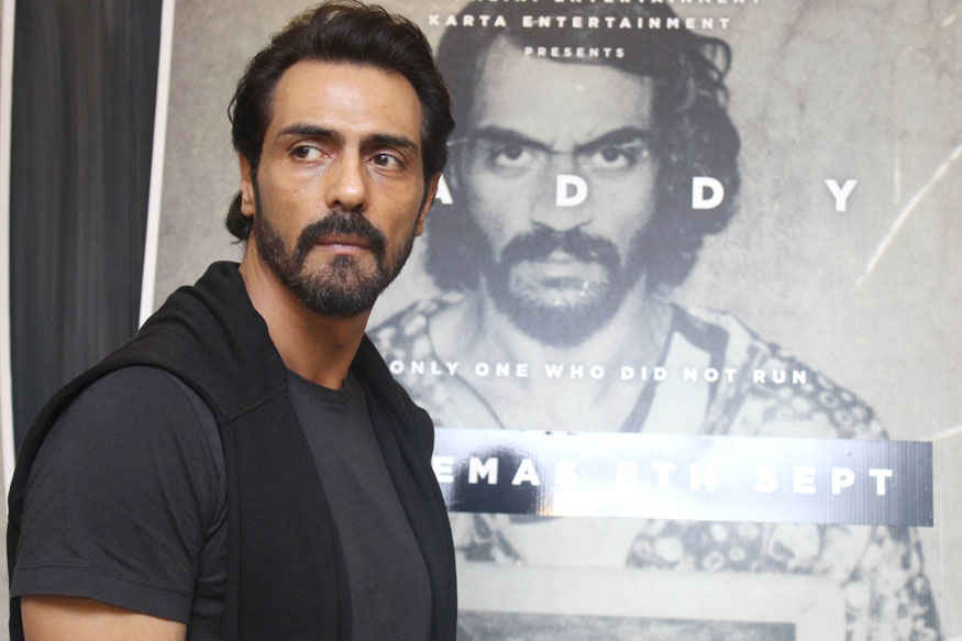 Arjun Rampal During Interview of His Movie 'Daddy' In Khar, Mumbai