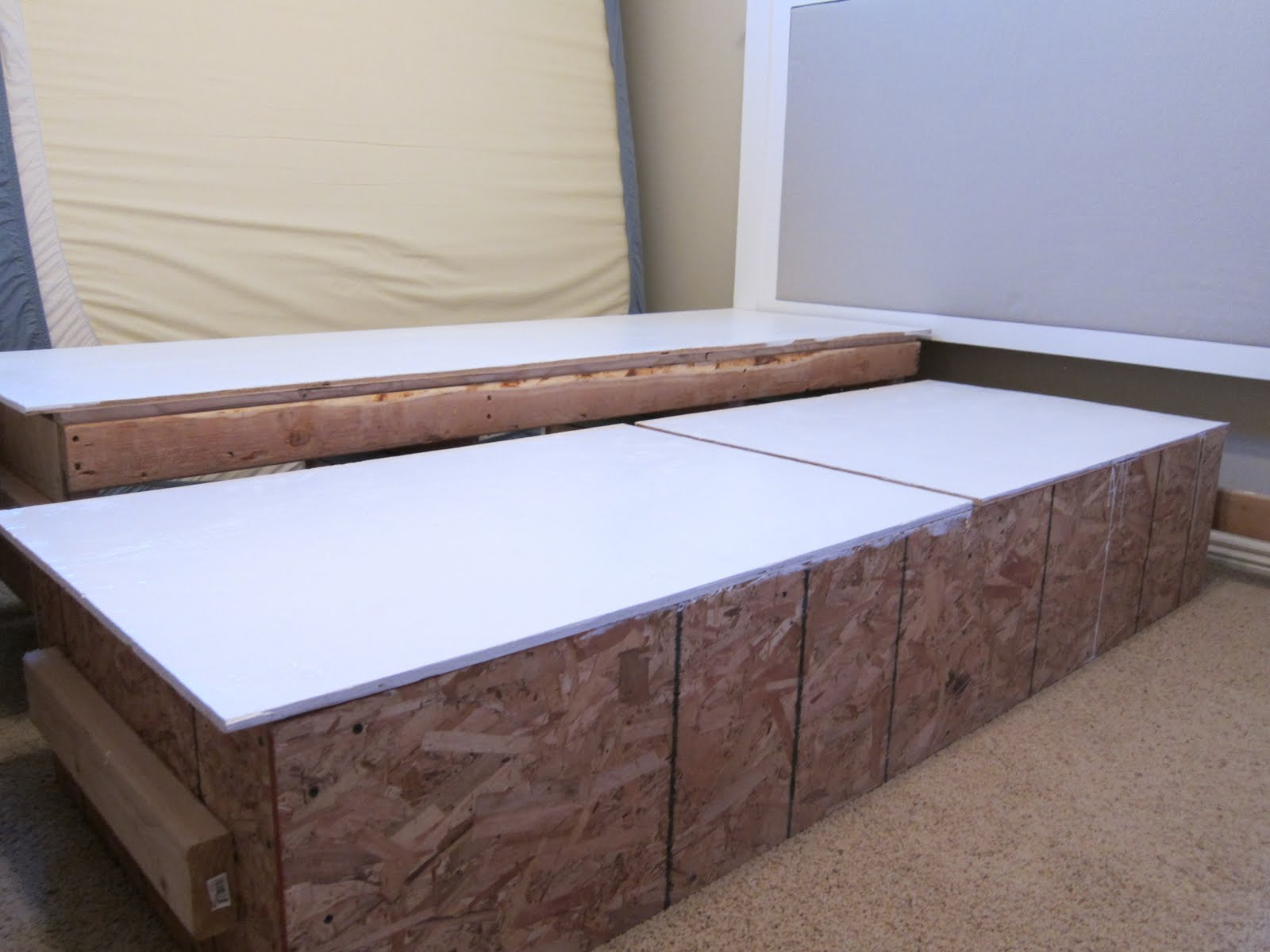 Do It Yourself Divas Diy King Size Bed Frame Part 4 Headboard