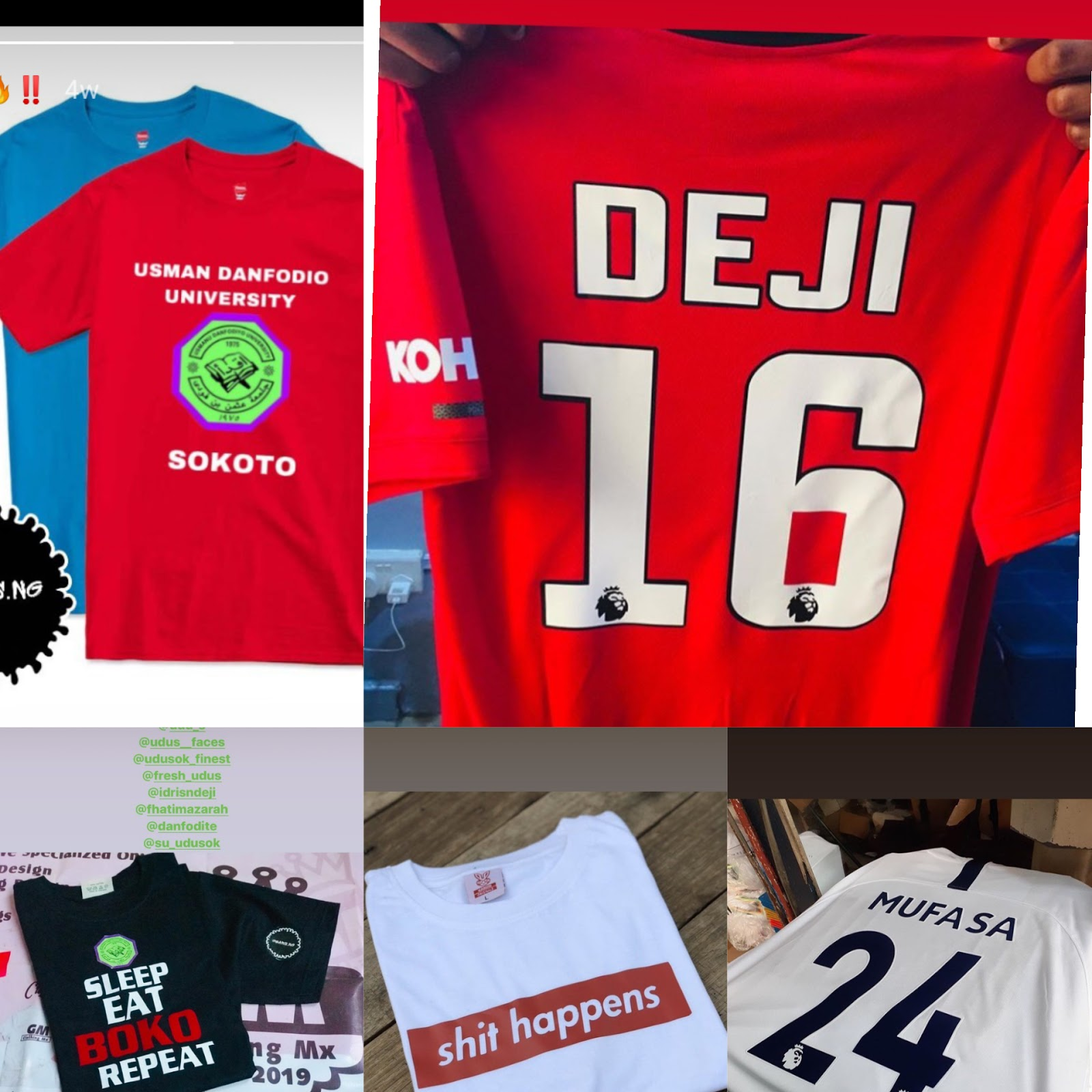 [Clothing] Gears-Ng: We make clothes, we customize (photos available) #Arewapublisize