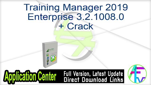 Training Manager 2019 Enterprise 3.2.1008.0 + Crack