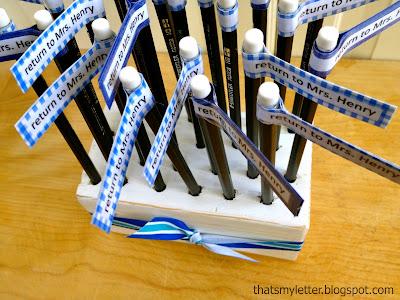 diy pencil holder teacher appreciation gift
