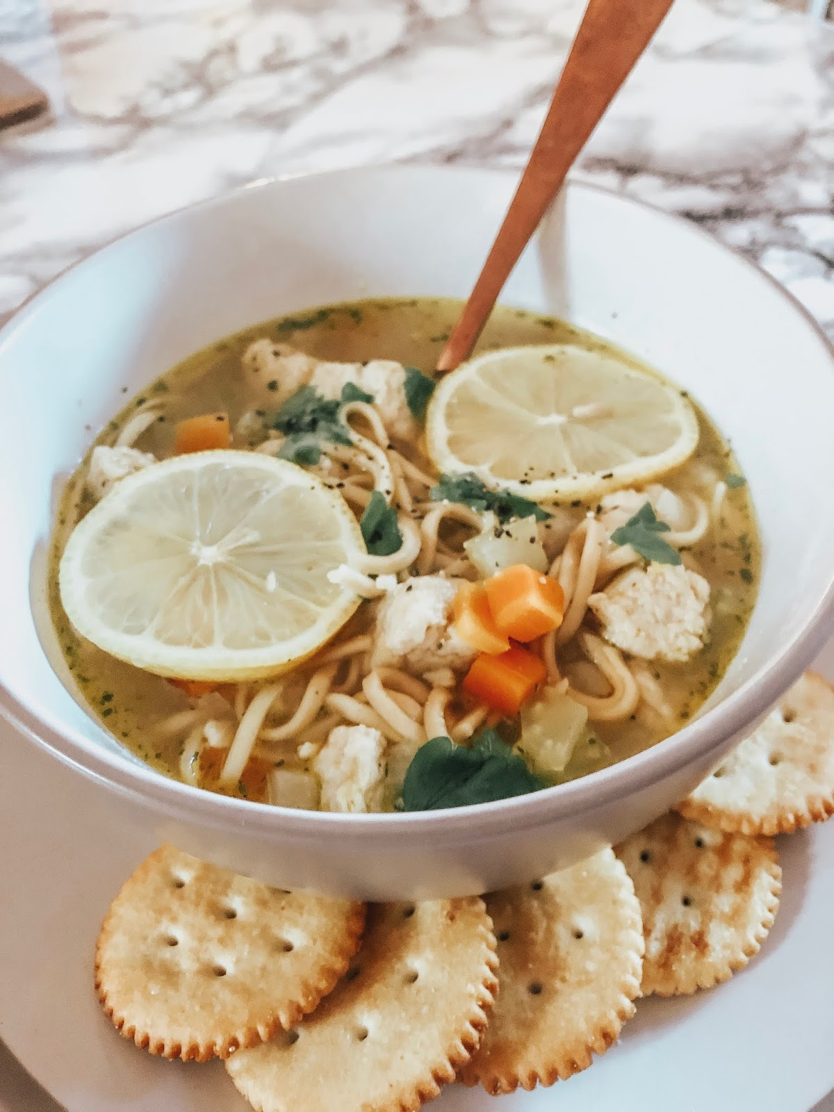 chicken noodle soup without the chicken
