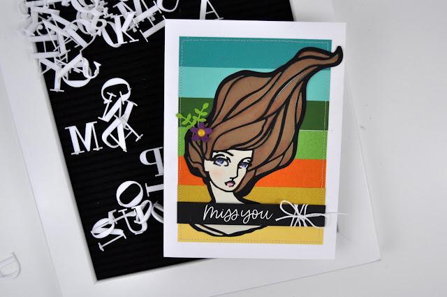 Spellbinders Jane Davenport dies. Card designed by Jen Gallacher for www.jengallacher.com #teamspellbinders #stamping #cardmaker #jengallacher