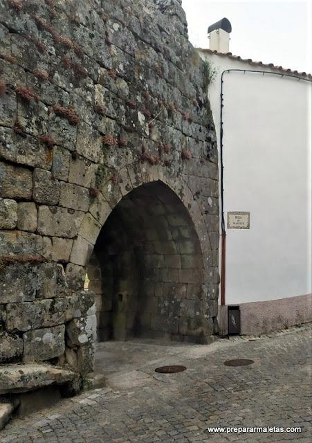 Trancoso, pueblo amurallado de Portugal
