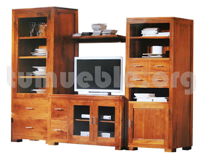 mueble modular en teca 2