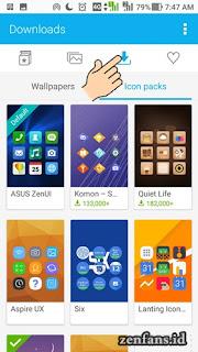 Cara merubah icon di ZenUi 4.0