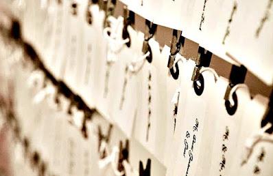hang tag wedding place card hanger
