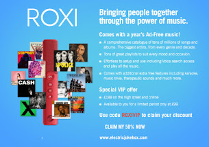 ROXI Music System 50% Discount