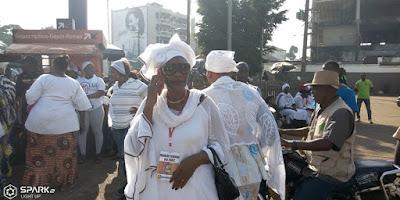 Guinée/manifestation des femmes du FNDC: les femmes répondent en contre goûte à la mobilisation 1