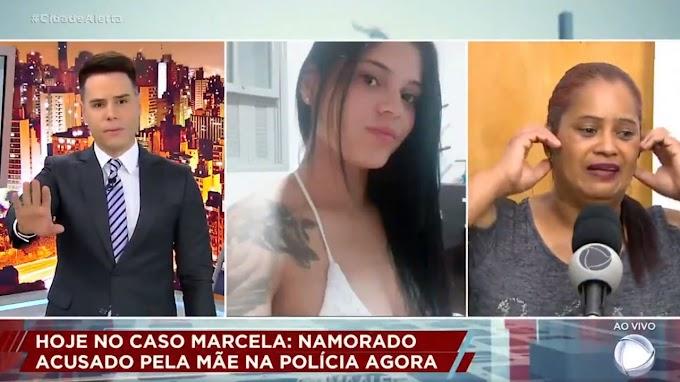 "Vídeo: Mãe descobre ao vivo no ""Cidade Alerta"" que filha foi assassinada e desmaia"