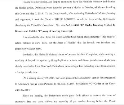 Lawsuit Against Response Datacom.