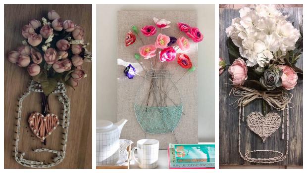 Εντυπωσιακά DIY διακοσμητικά τοίχου με χάρτινα λουλούδια