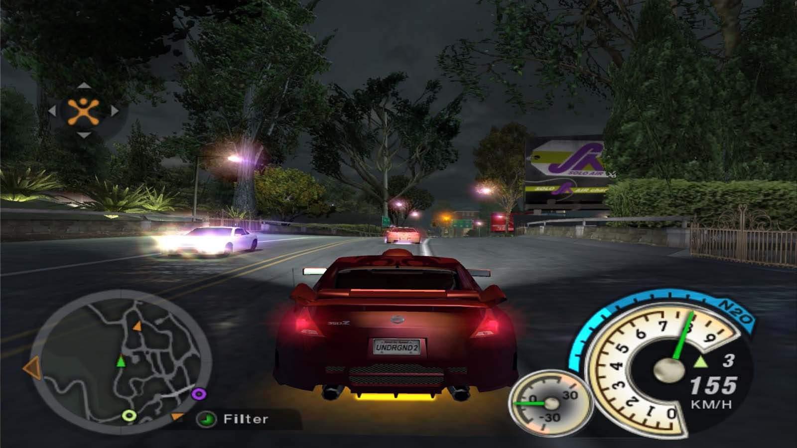 تحميل لعبة Need For Speed Underground 2 مضغوطة برابط واحد مباشر كاملة مجانا