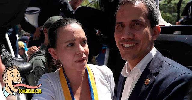 María Corina Machado habla sobre las actuaciones erráticas de Juan Guaidó