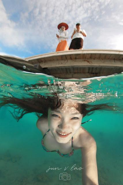 Girls Underwater, Underwater Girls, Underwater Model Photography, Philippines, PaparazSea