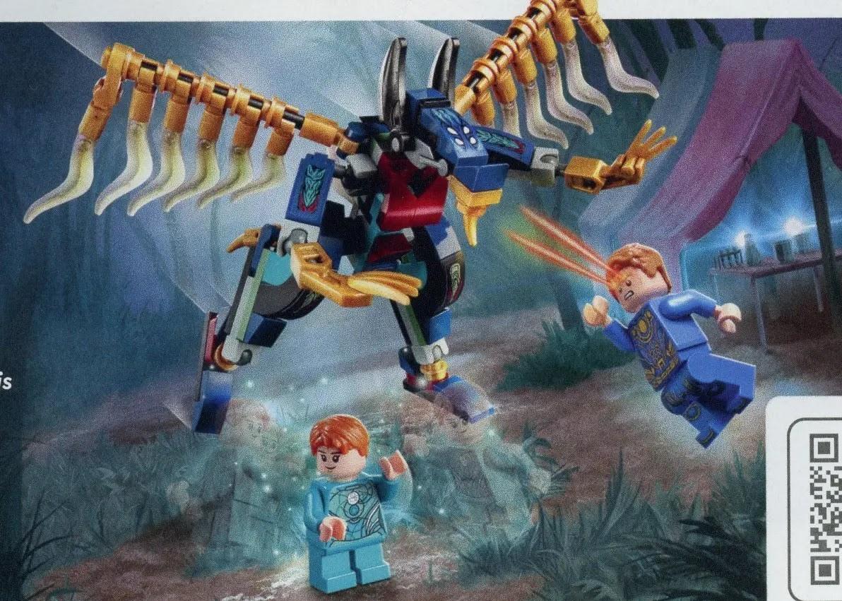 2021年レゴ マーベル・エターナルズ新製品情報:みんな大好きスーパー・ヒーロー