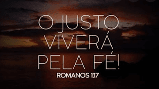 romanos o justo viverá pela fé