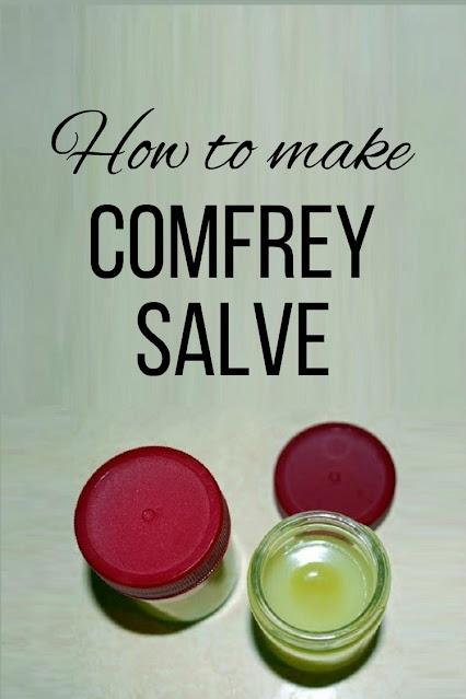 How to make comfrey salve