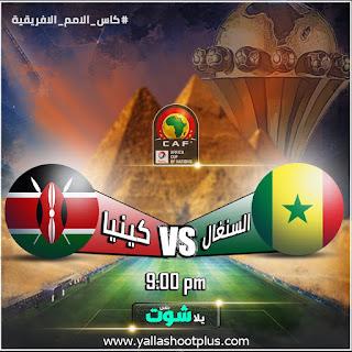 مشاهدة مباراة السنغال وكينيا بث مباشر اليوم 1-7-2019 في كأس الأمم الإفريقية 2019